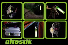 Brelok McNett Świecący Nitestik - Crystal Green